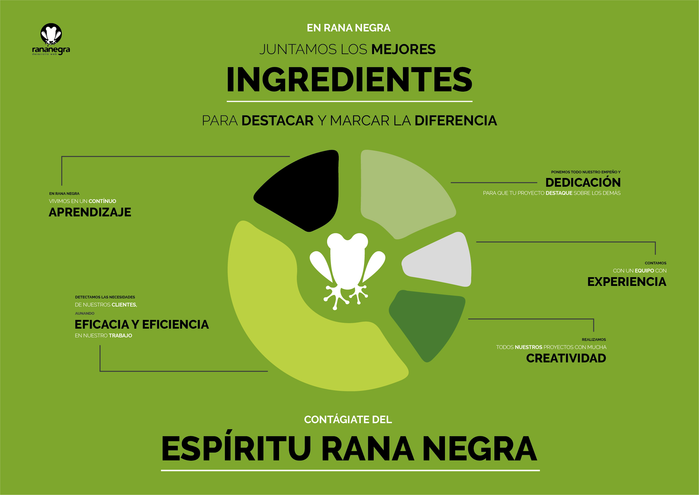 Ingredientes para un diseño web y un marketing online exquisitos.