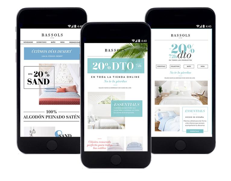 Diseño, maquetación, envío y monitorización de campañas newsletter