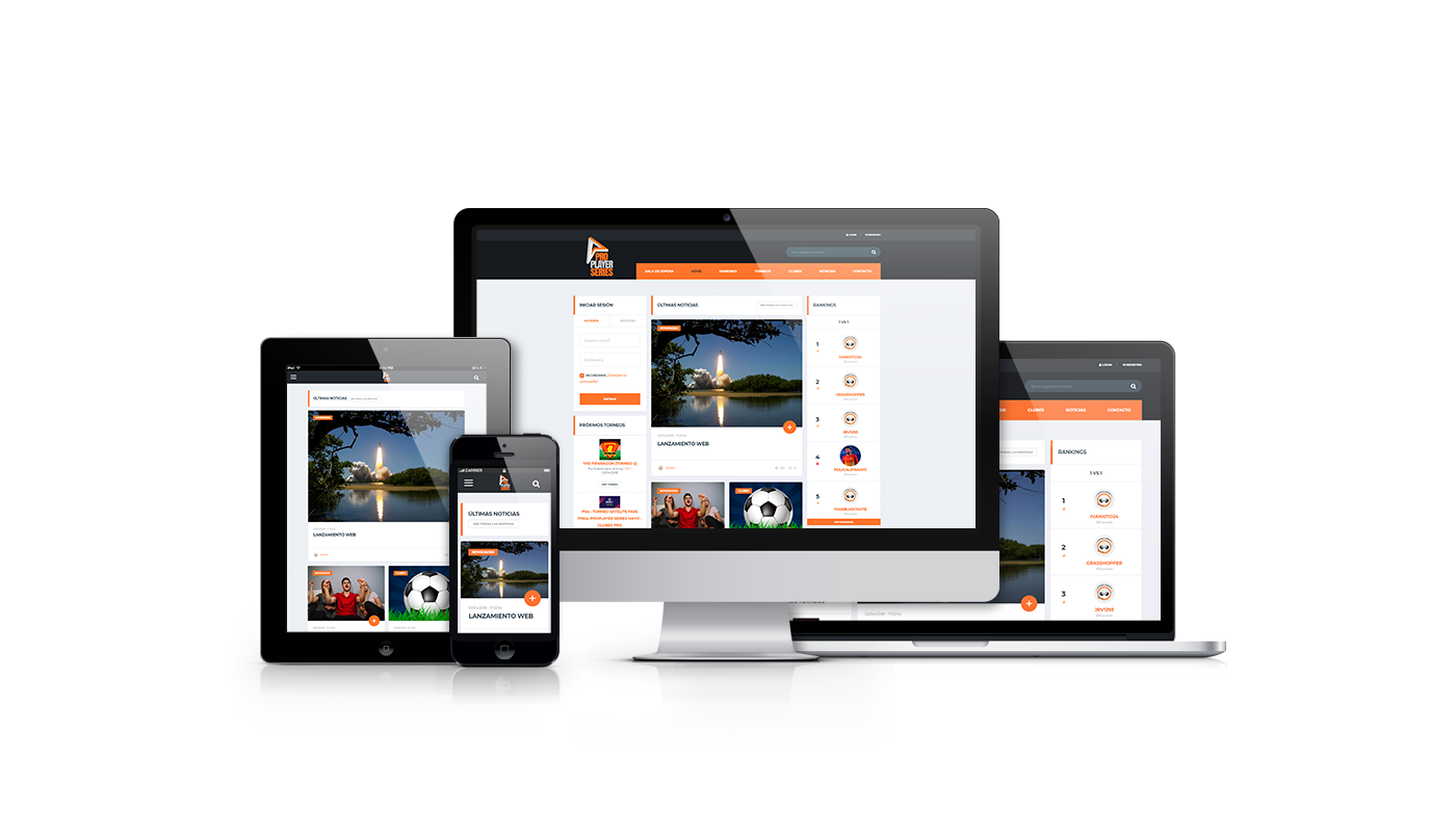 Desarrollo web integral de web y creación de imagen corporativa  comunidad interactiva Fifa