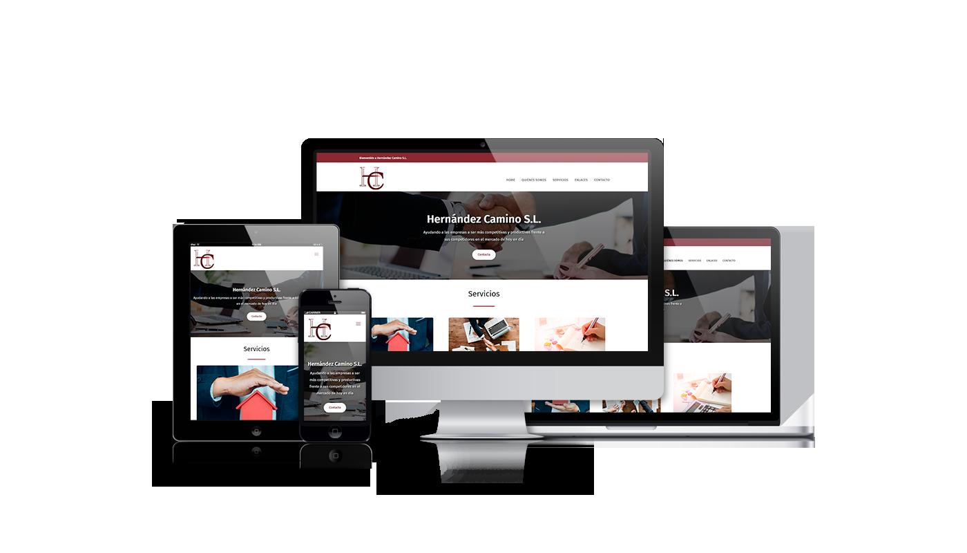 Desarrollo web para asesoría