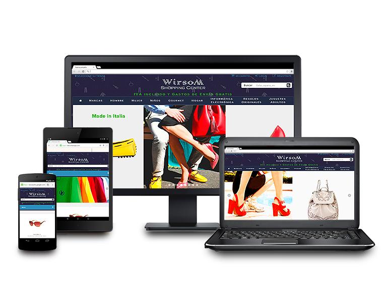desarrollo web integral tienda online