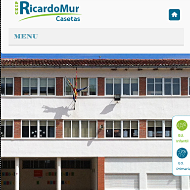 Desarrollo aplicación web para el colegio Ricardo Mur
