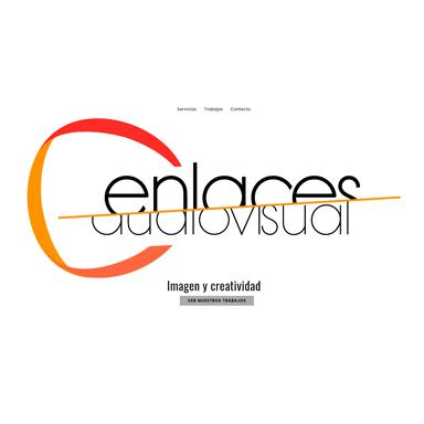 desarrollo web página con galería de trabajos audiovisuales
