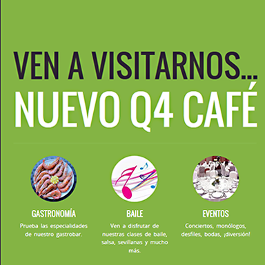 Desarrollo página web Nuevo Q4 Café