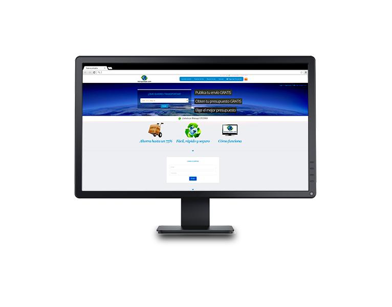 Desarrollo aplicación web Transportado.com