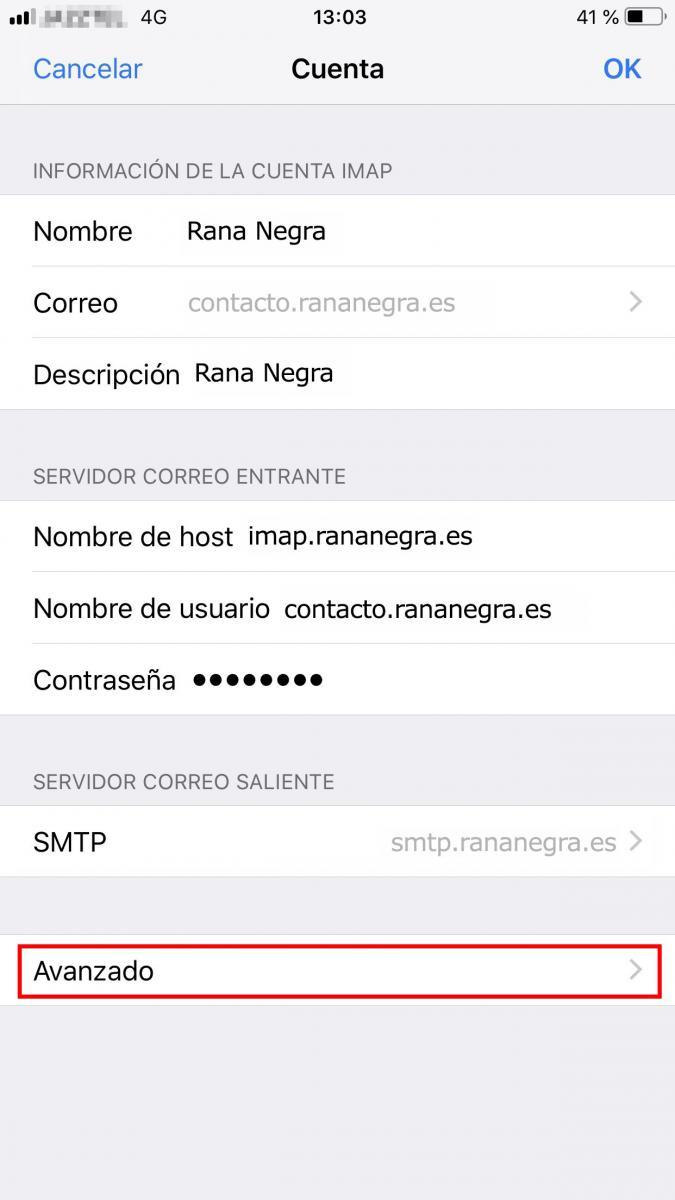 Cómo configurar los servidores de correo en Iphone