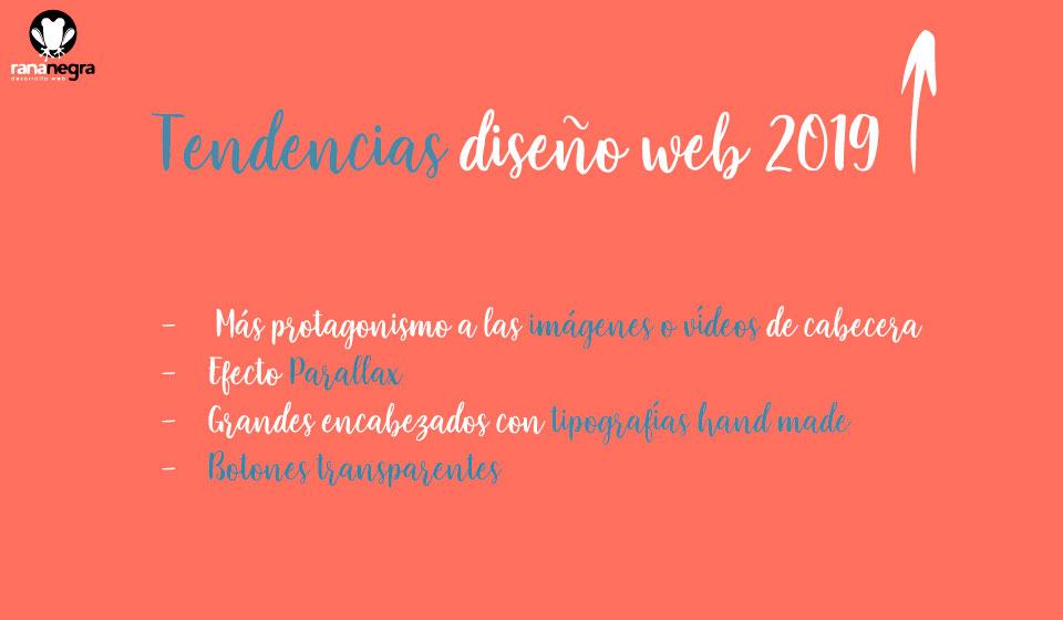 2019 tendencias en diseño web