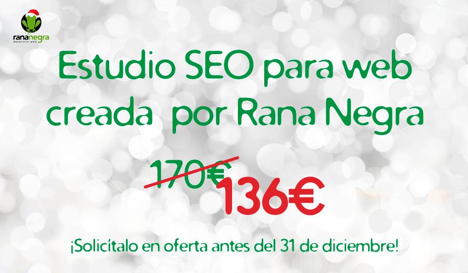 Oferta estudio SEO Rana Negra
