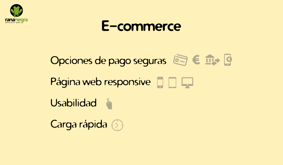 Requisitos e-commerce