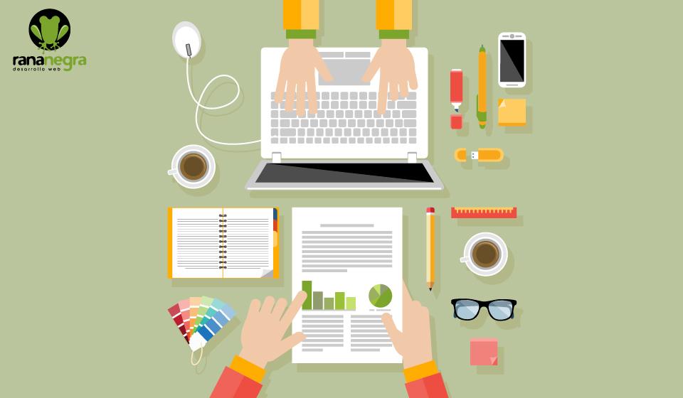 Relación entre diseño gráfico y maquetación web