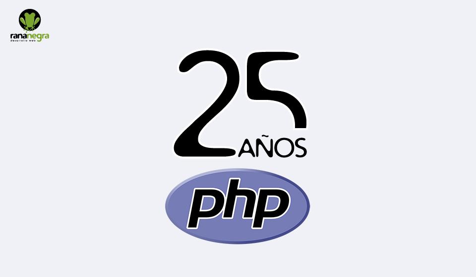 25 años php