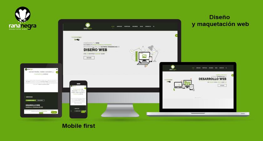 La importancia de la maquetación web responsive y profesional a la hora de vender más con una aplicación web