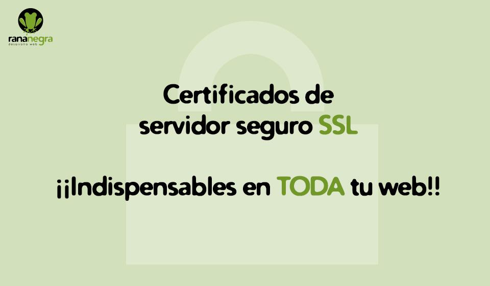 Certificados SSL  servidor seguro