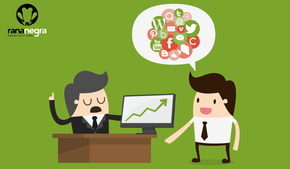 Convencer a jefes un poquito antiguos de la importancia de la presencia online y las redes sociales para cualquier tipo de negocio