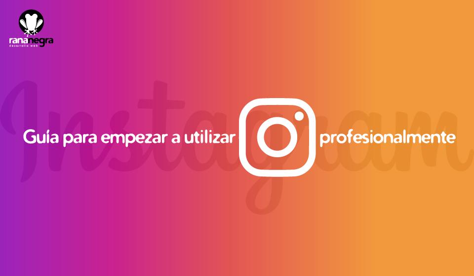 Guía de uso perfil Instagram