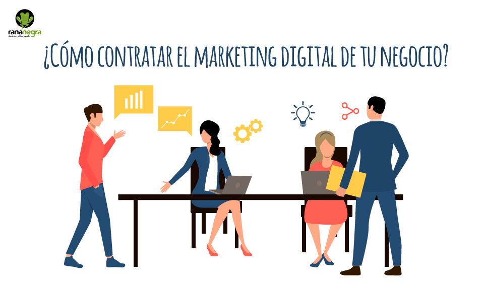 Contratar marketing digital negocio