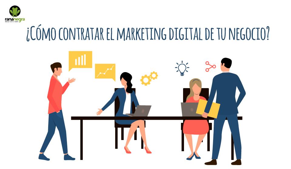 Contratar marketing digital negocio