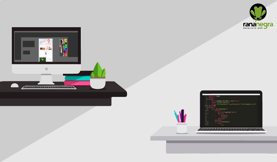 La relación entre diseño gráfico y maquetación web