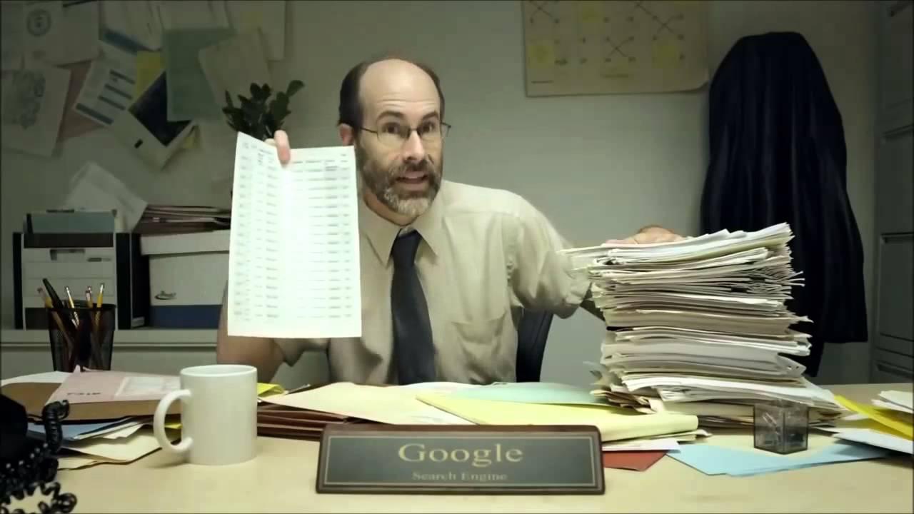 Humor: Si Google fuera una persona.  Y trucos para realizar búsquedas en Google.