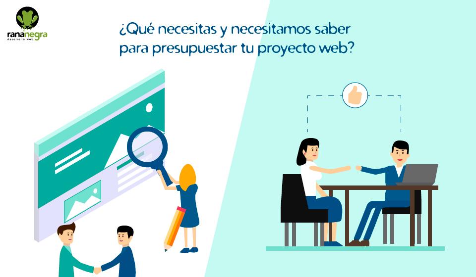 presupuestar proyecto web