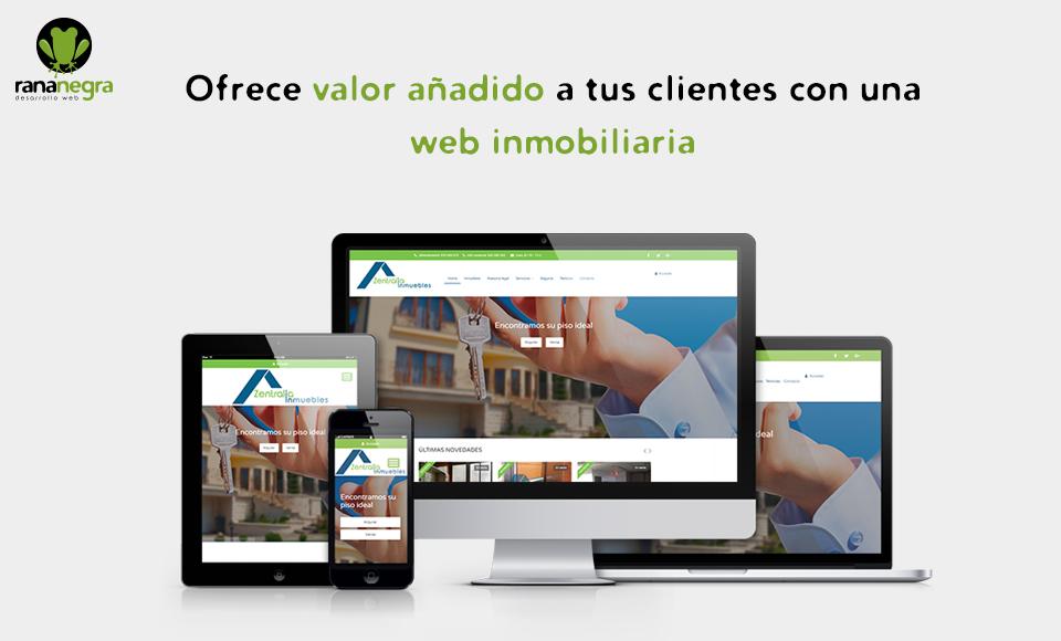 ofrece valor añadido a tus clientes con una web inmobiliaria