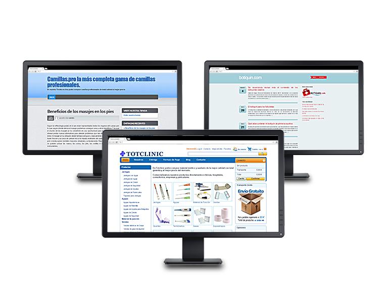 Creación de contenidos para blogs de venta de material sanitario