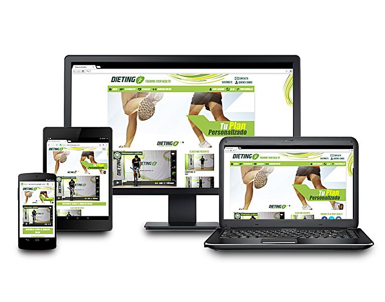 Desarrollo web Dieting.es