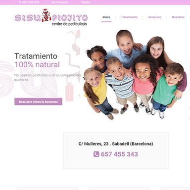 Desarrollo web Sisu Piojito